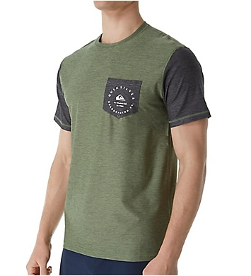 Quiksilver Badge UPF 50 Pocket T-Shirt