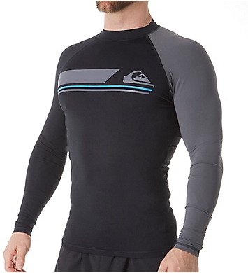 Quiksilver Active Long Sleeve Surf Shirt Rash Guard