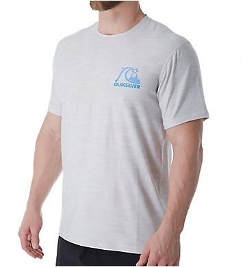 Quiksilver Heritage Surf Short Sleeve Rash Guard