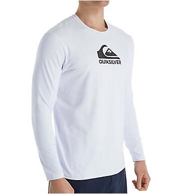 Quiksilver Solid Streak Long Sleeve Rash Guard