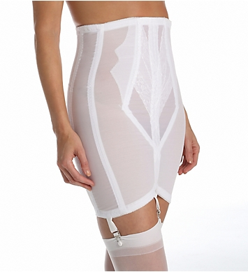 Rago High Waist Open Bottom Girdle with Zipper
