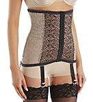 Lacette Extra Firm Shaping Waist Cincher w/Garters