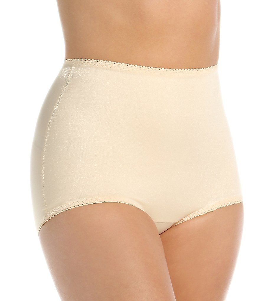 Rago - Rago 511 Light Shaping Control Brief Panty (Beige S)