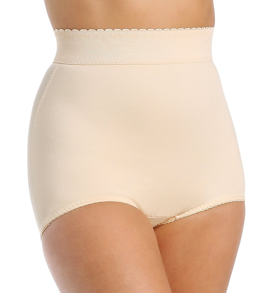 Rago - Rago 513 High Waist Light Shaping Brief Panty (Beige S)