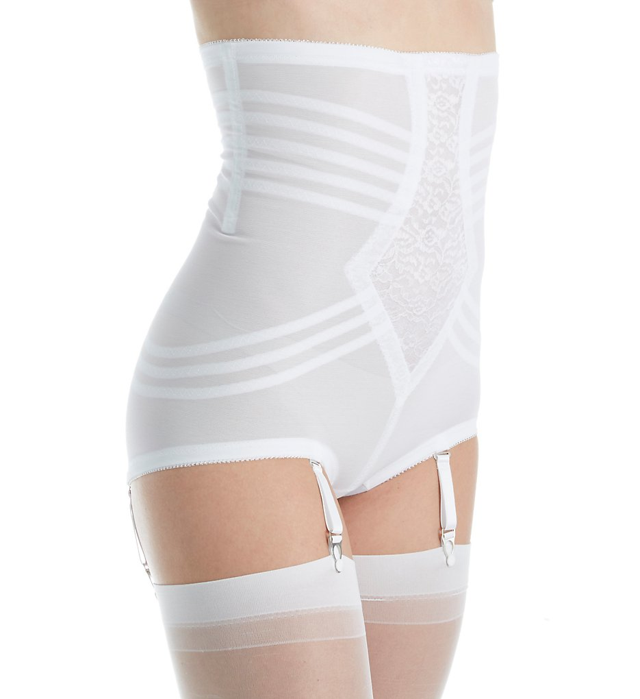 Rago - Rago 6109 Shapette No Roll High Waist Brief (White S)