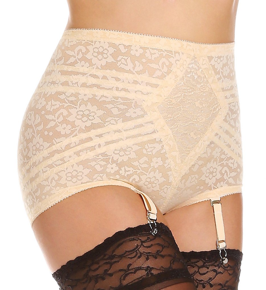 Rago - Rago 6197 Lacette Extra Firm Shaping Brief Panty (Beige S)