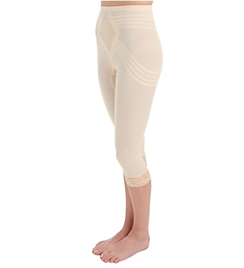 Rago Shapette Capri Pant Liner with Contour Bands