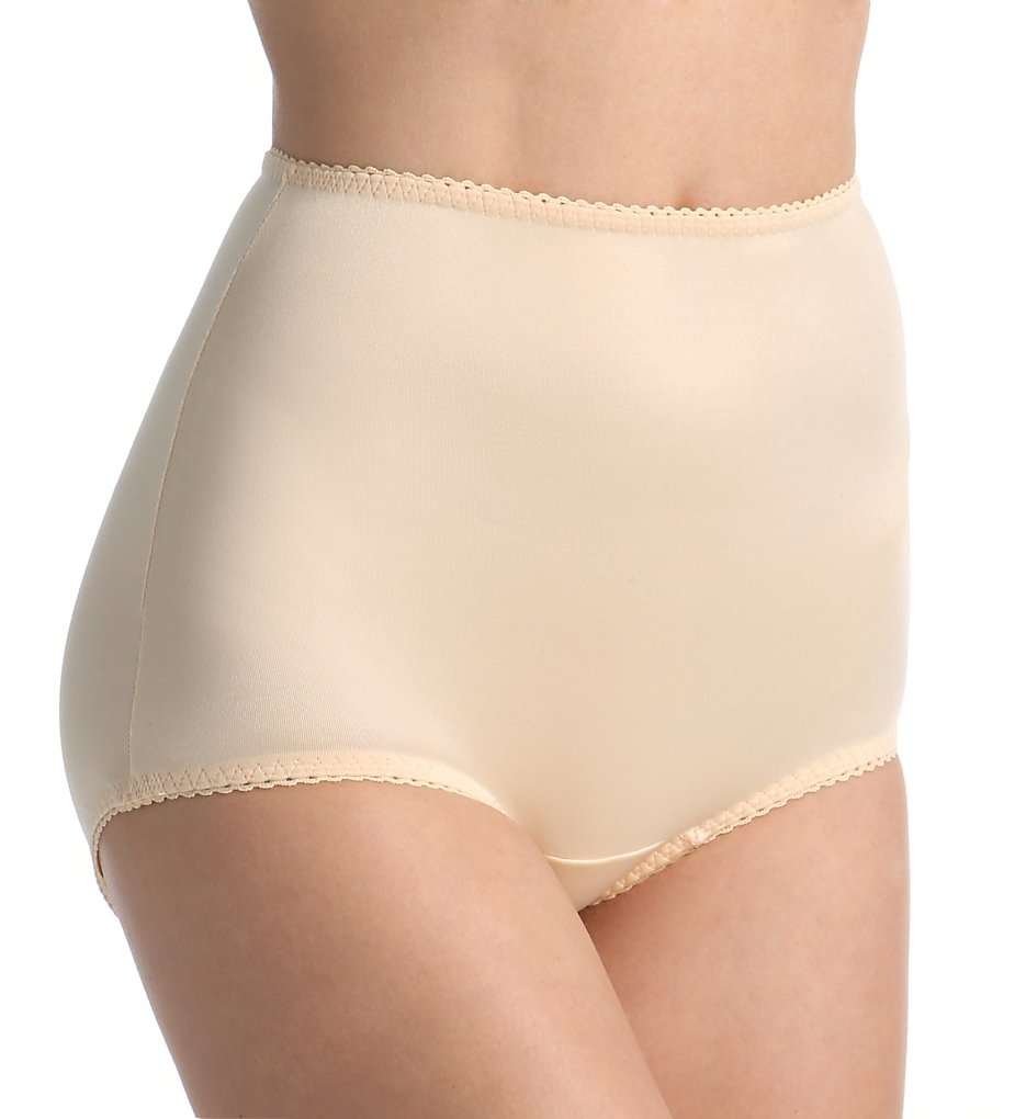 Rago - Rago 910 Light Control Smoothing Brief Panty (Beige S)