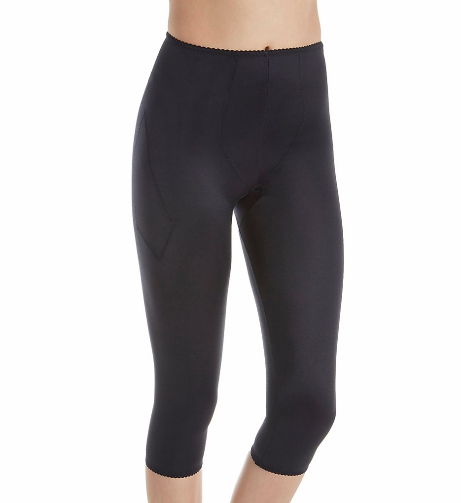 Rago - Rago 920 Light Shaping Capri Pant Liner (Black S)