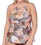 Plus Size Laguna Rosalie Tankini Swim Top