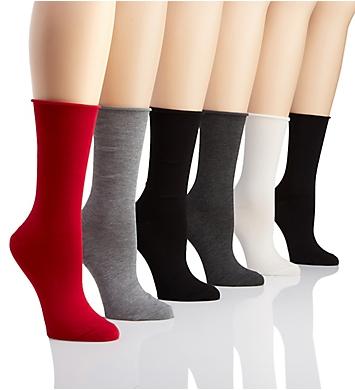 Ralph Lauren Lauren Roll Top Trouser Sock - 6 Pack
