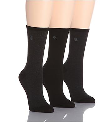 Ralph Lauren Tweed Cotton Trouser Socks - 3 Pair Pack