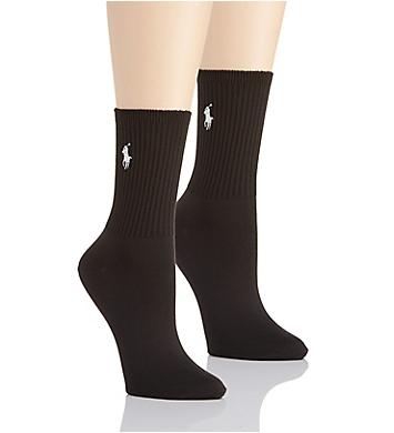Ralph Lauren Super Soft Crew Sock - 2 Pair Pack