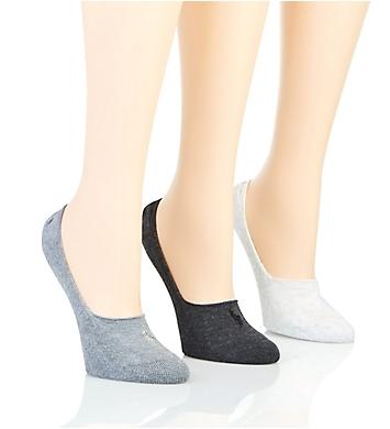 Ralph Lauren Sweatshirt Terry Liner Sock - 3 Pack