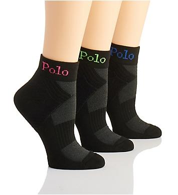 Ralph Lauren Polo Knit in Sporty Anklet Sock - 3 Pack