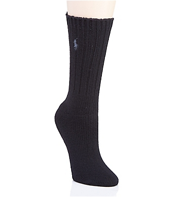 Ralph Lauren Wool Rib Boot Sock