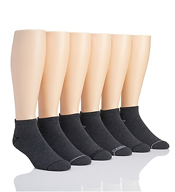 Reebok Basic Multi-Sport Quarter Socks - 6 Pack