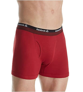 Reebok Cotton Boxer Briefs - 3 Pack