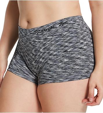 Reebok Full Figure Seamless Boyshort Panty - 3 Pack