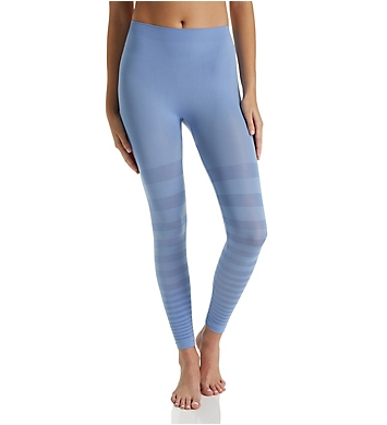 Rhonda Shear Seamless Tonal Striped Shaping Legging