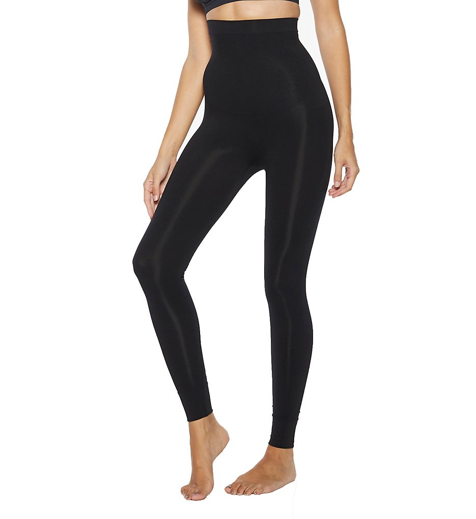 Rhonda Shear - Rhonda Shear 1386 Ahh Smooth Tootsie Shaping Legging (Black S)