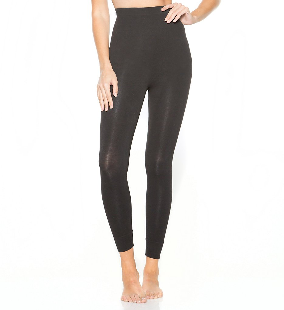 Rhonda Shear - Rhonda Shear 1389 High Waist Cotton Control Legging (Black S)