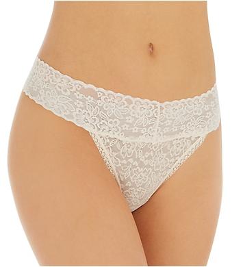 Rhonda Shear Lace Thong