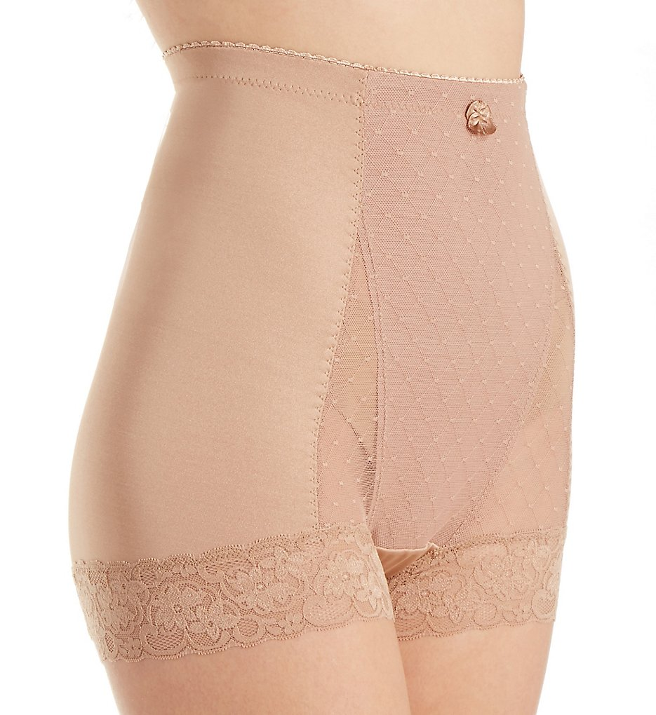 Rhonda Shear >> Rhonda Shear 4000 Pin Up Dot Tap Panty (Dark Nude 1X)