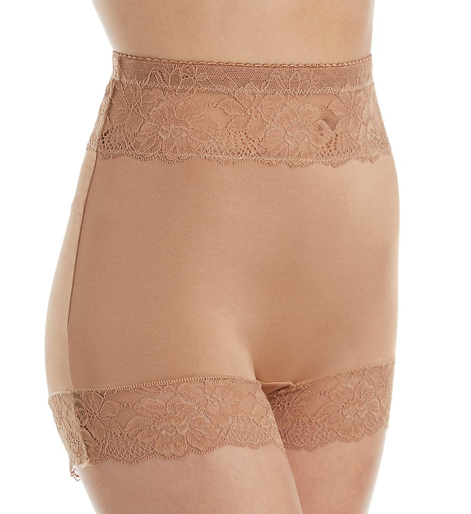 Rhonda Shear >> Rhonda Shear 4002 Pin Up Lace Trim Panty (Nude S)
