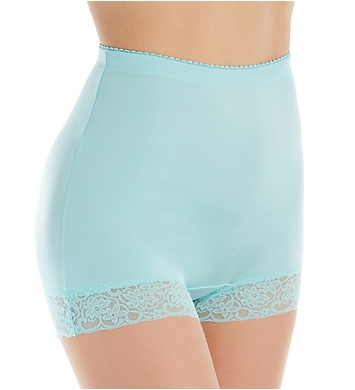 Rhonda Shear Pin Up Lace Trim Hi-Waisted Panty Mystery - 3 Pack
