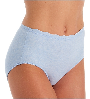 Rhonda Shear Lightweight Melange Brief Panty