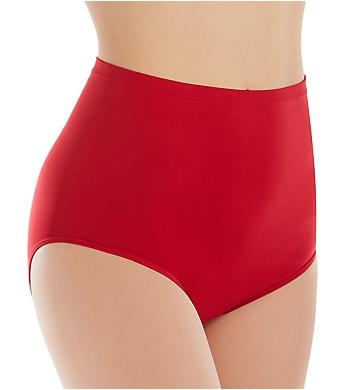 Rhonda Shear Ahh High Waisted Seamless Brief Panty Mystery- 3PK