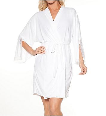 Rhonda Shear Shear D-Lites Short Kimono Robe