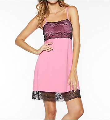 Rhonda Shear Butterknit Chemise with Shelf Bra 7914 - Rhonda Shear ...