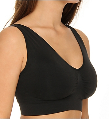 dc37ff1eb Rhonda Shear Ahh Seamless Leisure Bra with Removable Pads 92071 ...