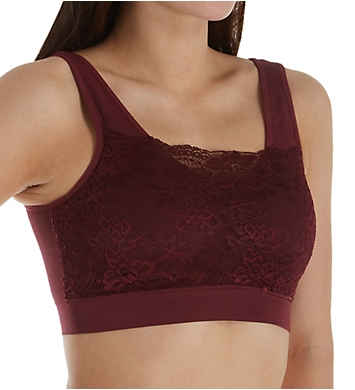 Rhonda Shear Ahh Bra with Lace Overlay Mystery - 3 Pack