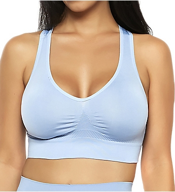 Rhonda Shear Ahh Seamless Criss Cross Back Leisure Bra