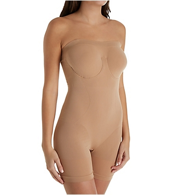 Rhonda Shear Seamless Smoothing Bodysuit with Underwire