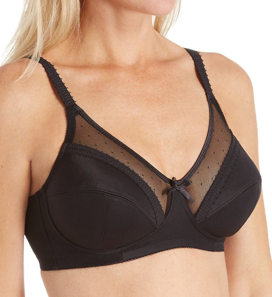 Royce : Royce 821 Charlotte Wireless Support Bra (Black 30DD)