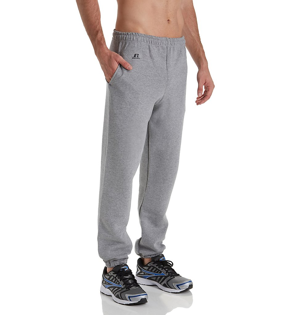 Russell 029Hbm0 Dri-Power Fleece Closed Bottom Pocketed Pant (Oxford 3Xl)