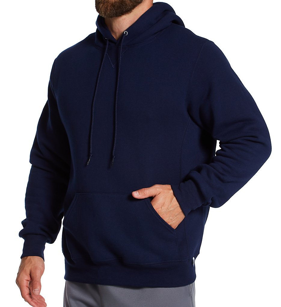 Russell Athletic Navy Blue Mens Dri-power Fleece Pullover Hoodie ...