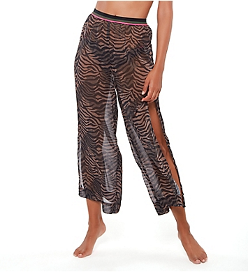 Sanctuary Here Kitty Kitty Slit Side Crop Pant Cover Up