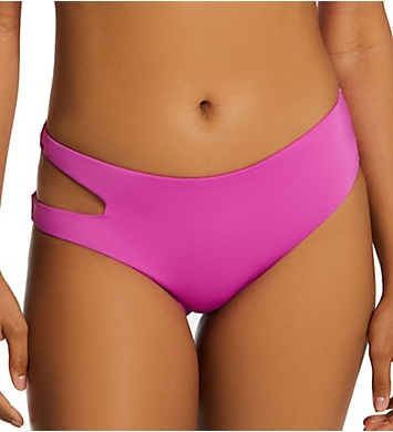 Sanctuary Sandbar Solids Cutout Midster Swim Bottom
