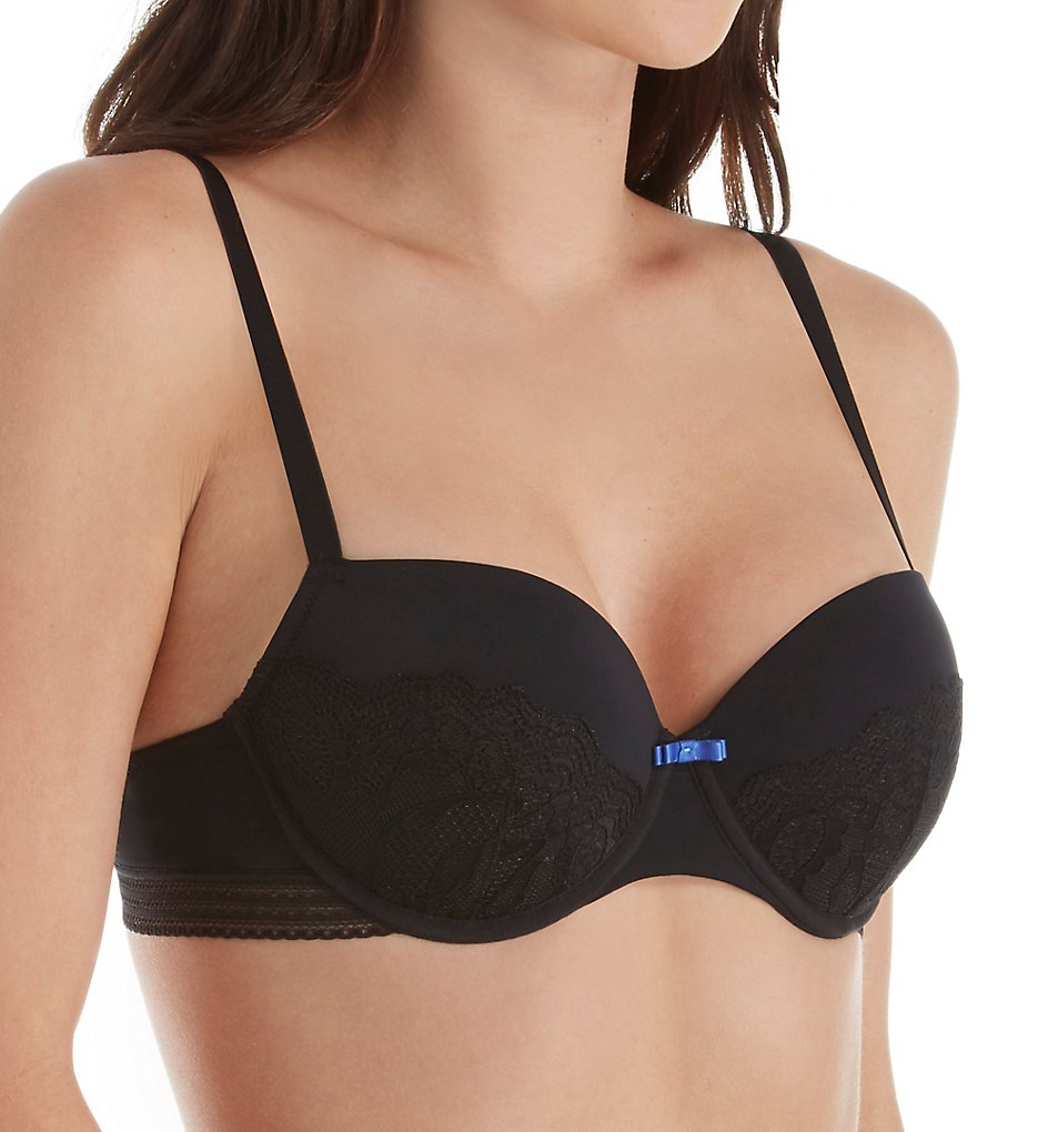Sapph 1625117 Everglade Padded Underwire Bra (Black)