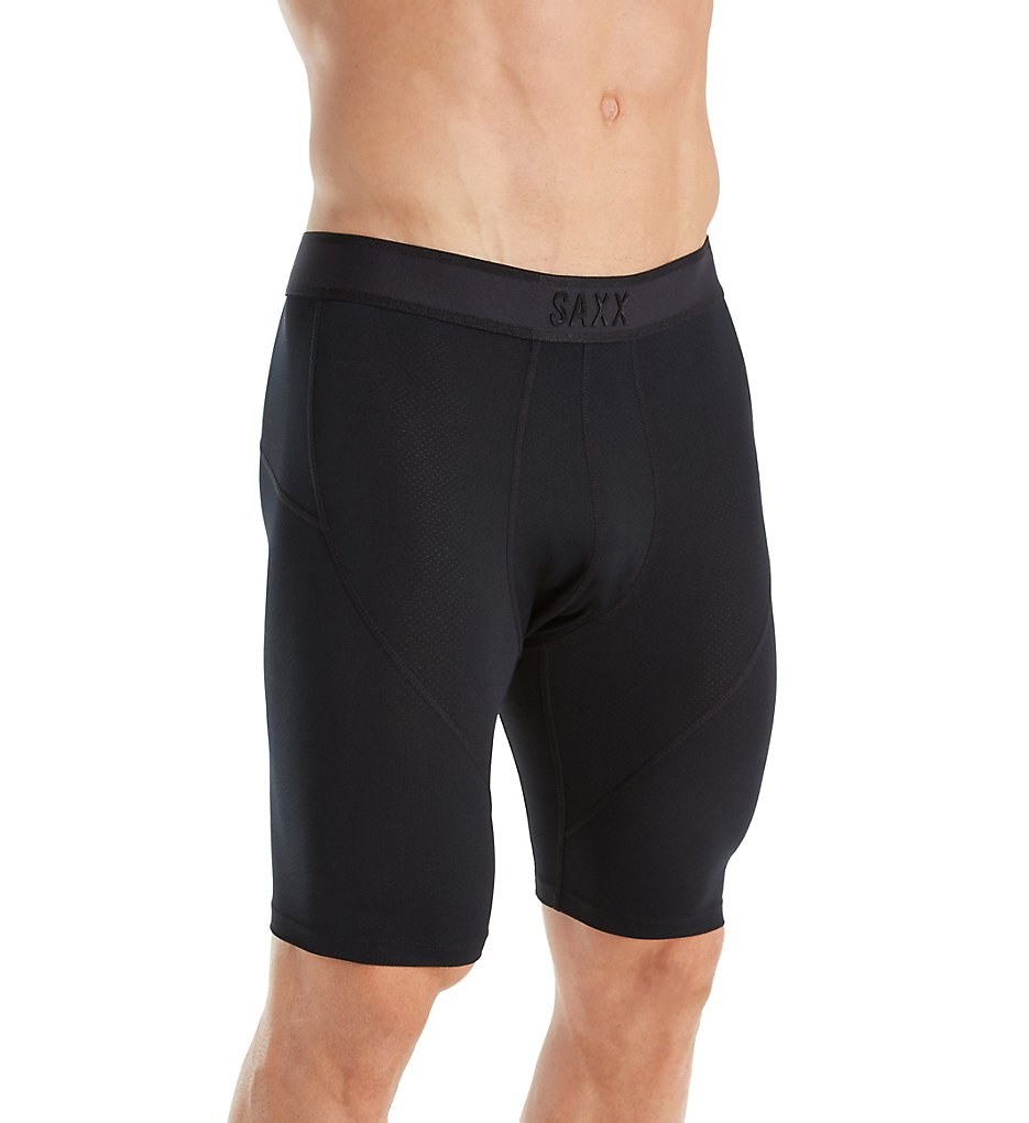 eab68f1833a Saxx Underwear Kinetic Semi-Compression 9 Inch Long Leg Boxer SXLL27 ...