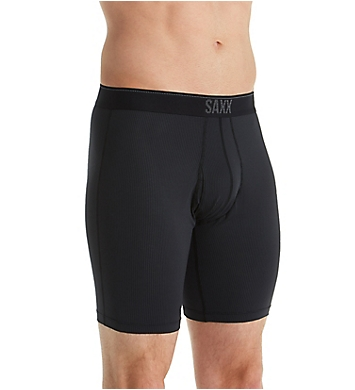 Saxx Underwear Quest Long Leg Boxer Brief with Fly
