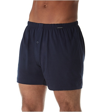 Schiesser Cotton Solid Jersey Boxer
