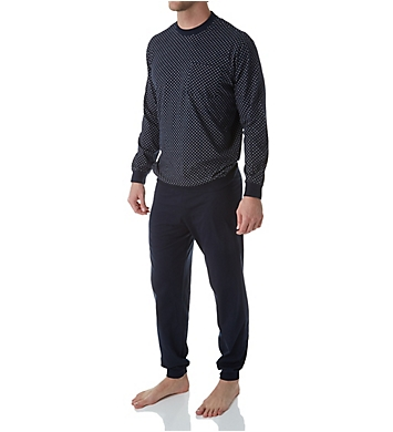 Schiesser Day and Night Single Jersey Pajama Pant Set