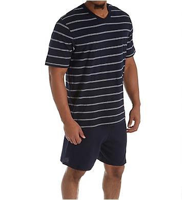 Schiesser Day and Night Jersey Pajama Short Set