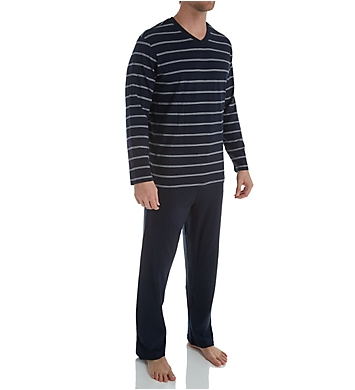 Schiesser Day and Night Jersey Pajama Pant Set